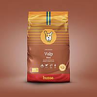 Сухой корм для щенков крупных пород шведский 15 кг Husse Valp Maxi