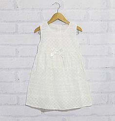 Платье летнее без рукавов для девочки, на молнии,  Breeze  (размер 2(92))
