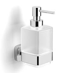 Дозатор для моющего средства на стену VOLLE TEO 15-88-421 хром 300мл стекло 71495