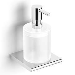 Дозатор для жидкого мыла настенный VOLLE FIESTA 15-77-312 хром 300мл стекло 71667