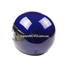 Шлем закрытый HF-101 (size: M, синий глянцевый), фото 3
