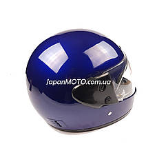 Шлем закрытый HF-101 (size: M, синий глянцевый), фото 2