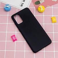 Чехол Fiji Soft для Samsung Galaxy Note 20 (N980) силикон бампер черный