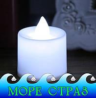 Свічка штучна світлодіодна для шамадана, шоу, романтичного настрою