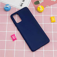 Чехол Fiji Soft для Samsung Galaxy Note 20 (N980) силикон бампер темно-синий