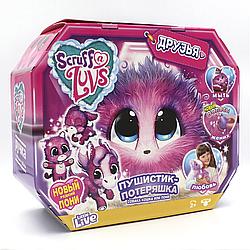 Мягкая игрушка сюрприз няшка потеряшка Scruff A Luvs вид 5