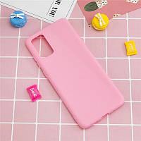 Чехол Fiji Soft для Samsung Galaxy Note 20 (N980) силикон бампер светло-розовый