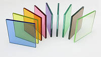 Цветной триплекс. Разноцветное стекло триплекс. Цветное ламинированное стекло.