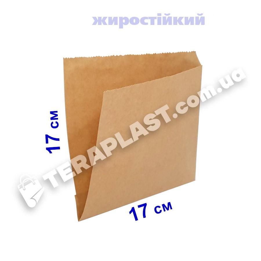 Уголок бумажный 170x170 крафт плотность 70 г/м2 (бурый)