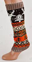 Женские вязаные гетры на обувь GV01-2