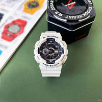 Мужские наручные Часы Casio G-Shock GA-110, белые кварцевые часы касио джи шок, подарок мужчине