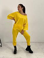 Спортивный костюм однотонный женский (ПОШТУЧНО), фото 1
