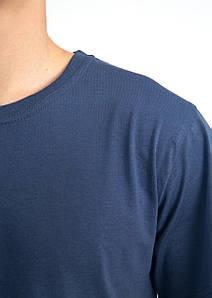 Універсальна футболка вільного крою БАТАЛ (антрацит)