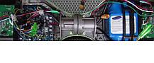 Гироборд Сигвей Гироскутер Smart Balance 10,5 дюймов цвет Синее пламя, фото 2
