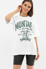 ЖЕНСКАЯ  футболка  Цвет: белый VL Размеры S M L