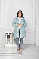 Женская стильная трендовая парка весенняя куртка с карманами на груди