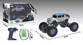 """Джип на р/у JKL - 505 """"Поліція"""" (54) акумулятор 3.7 V, в коробці"""