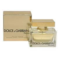 Жіноча парфумована вода dolce&gabbana the one (зе ван, зе уан) - , неповторний аромат!, (копія)