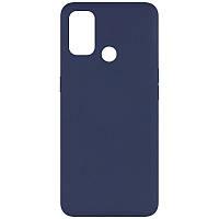Чехол Fiji Soft для Vivo Y30 силикон бампер темно-синий