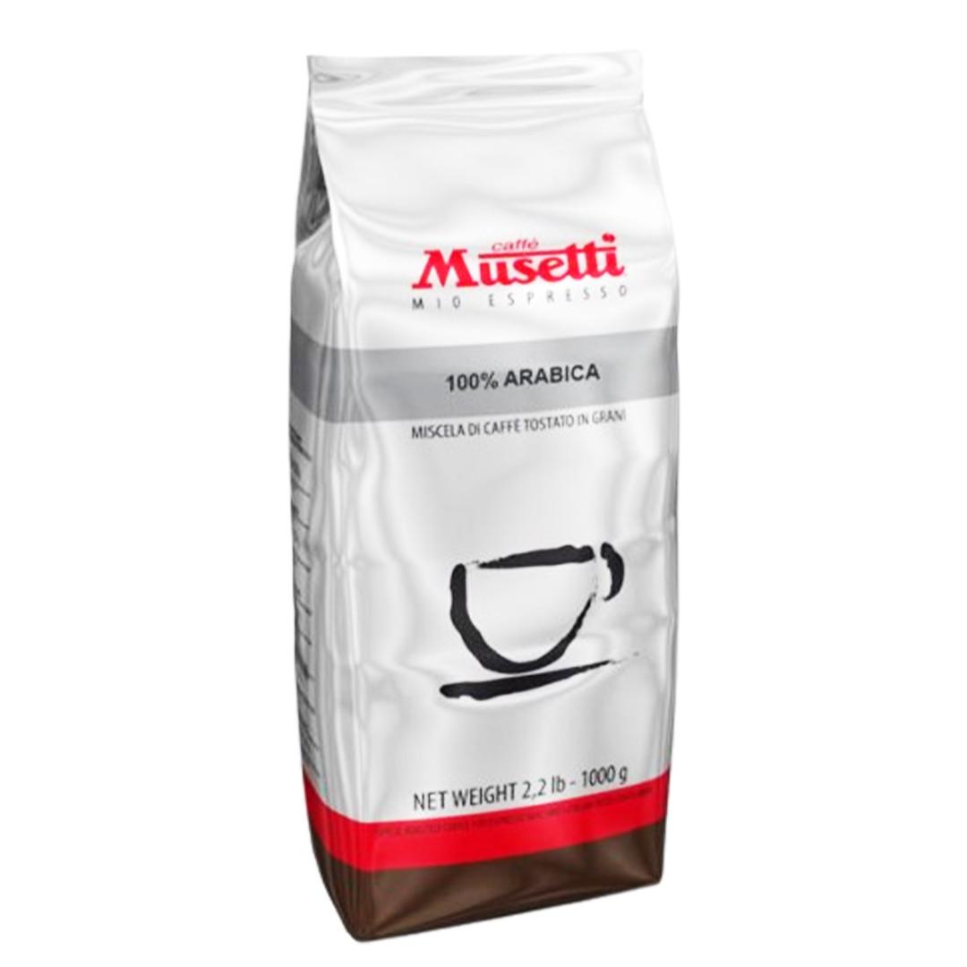 Кофе в зёрнах Caffe Musetti 100% Arabica 1 кг