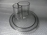 Крышка смесительной чаши с двойным загрузочным отверстием кухонного комбайна Bosch 00489136, фото 1