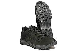 Кросівки Strongboots Мустанг літні шкіра нубук Чорні 5154-9-3 (36-46)