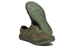 Кросівки Strongboots Черокі літні шкіра нубук/сітка Олива 5650-3-6 (36-46)