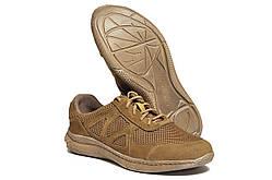 Кросівки Strongboots Черокі літні шкіра нубук/сітка Койот 5650-3-4 (36-46)