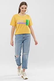 Яркая футболка инфлюенсер с силиконовым карманом Турция  S M L Xl