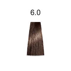 Стойкая краска для волос 6.0 темный блондин 60 мл, Mirella Professional