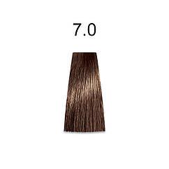 Стойкая краска для волос 7.0 блондин 60 мл, Mirella Professional