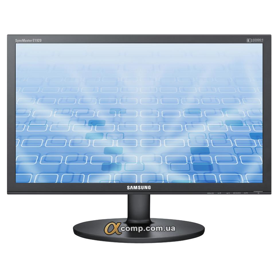 """Монітор 18.5"""" Samsung E1920N (TN • 16:9 • VGA) БО уцінка"""