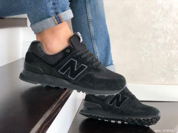 Мужские кроссовки New Balance замша (9 цветов)