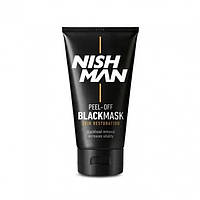 Черная Маска Для Лица Nishman Black mask 150ml