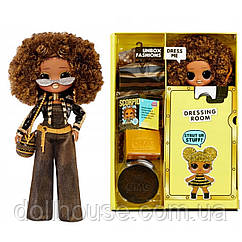 Без упаковки ЛОЛ Роял Би L.O.L. Surprise! O.M.G. Royal Bee Fashion Doll with 20 Surprises 1 серия