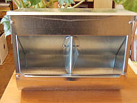 Бункерная кормушка  для кроликов на два отделения, фото 1