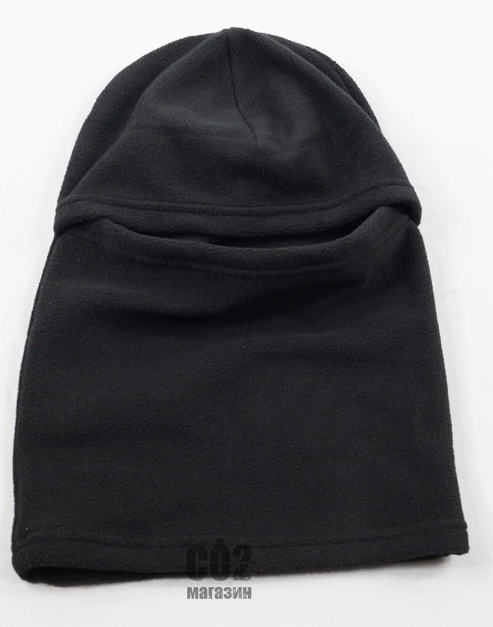 Шапка Феска (Балаклава) черная флис - СО2 магазин в Харькове 578ba7846e38b