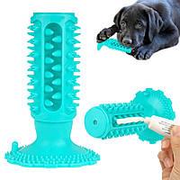 Іграшка для собак Bronzedog Petfun Dental на присосці з пискавкою 15см