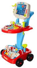 Умный доктор 660-45-46 - детский игровой набор ( УЦЕНКА наклеено наклейки)