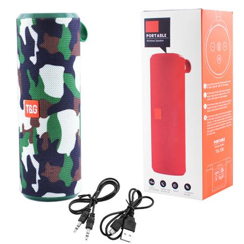 Bluetooth-колонка SPS UBL TG126 (Black/Red/Blue-Grey/Camouflage)