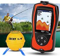 Бездротовий Ехолот LUCKY FF1108-1CWLA портативний гідролокатор, для зимової та літньої риболовлі