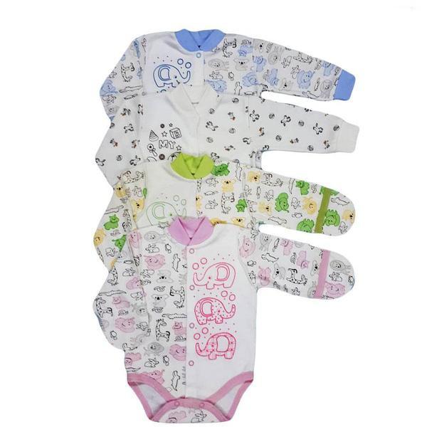Боди для новорожденных, на кнопках (интерлок набивной)