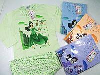 Пижама для девочек трикотажная, размеры  134,140,146,152,158,164 арт. 455