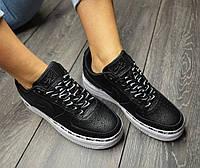 Жіночі Nike Air Force 1 Low Black Ribbon Pack, фото 1