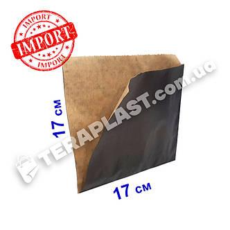 Уголок бумажный 170x170 крафт плотность 70 г/м2 (чёрный), фото 2