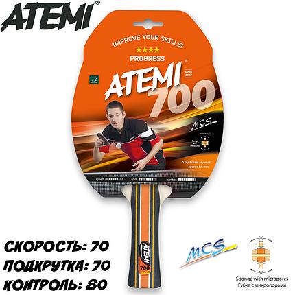 Ракетка для настольного тенниса ATEMI 700**** PROGRESS, фото 2