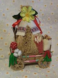 Обереги Декор из соломы Шкатулки Украинские сувениры