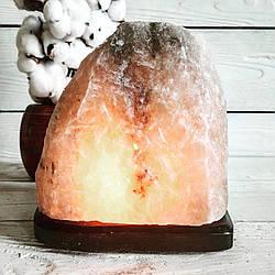 """Соляная лампа """"Скала"""", 4-5 кг, (19*19*23 см)"""