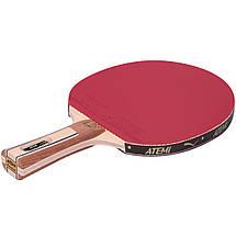 Ракетка для настольного тенниса ATEMI 4000 PRO BALSA ECO LINE, фото 2