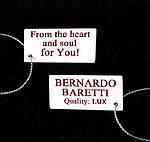 Кулон с цирконами BERNARDO BARETTI в футляре из бархата (K070), фото 6